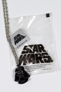 Weingeroff Ent - Darth Vader necklace with packaging