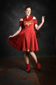 Hannah Black - Queen Amidala couture design
