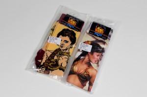 Slave Leia socks
