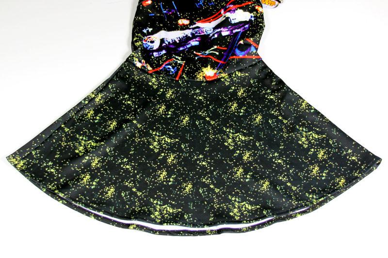 We Love Fine x Goldie dress - skirt flare