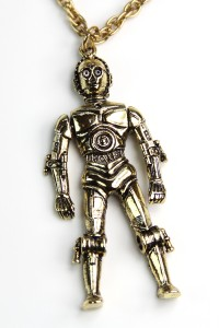 Weingeroff Ent - C-3PO necklace