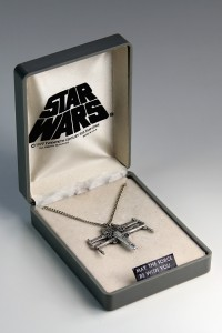 Weingeroff Ent - X-Wing necklace with box
