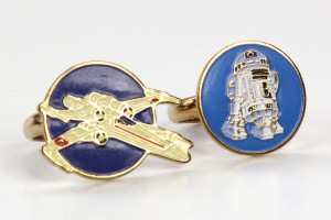 Wallace Berrie - X-Wing and R2-D2 rings
