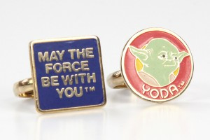Wallace Berrie - MTFBWY and Yoda rings