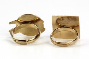 Wallace Berrie - adjustable rings