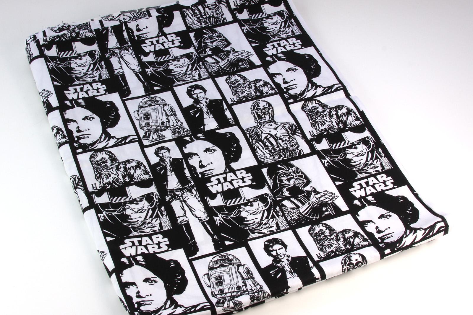 Star wars fabrics the kessel runway for Star wars fabric