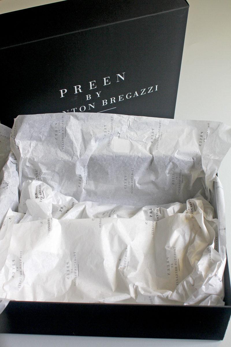 Preen by Thornton Bregazzi - packaging
