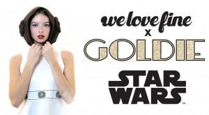 We Love Fine x Goldie
