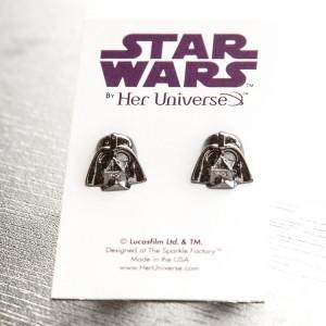 Her Universe - Darth Vader stud earrings