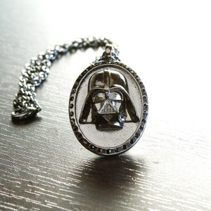 Her Universe - Darth Vader Dark Side necklace