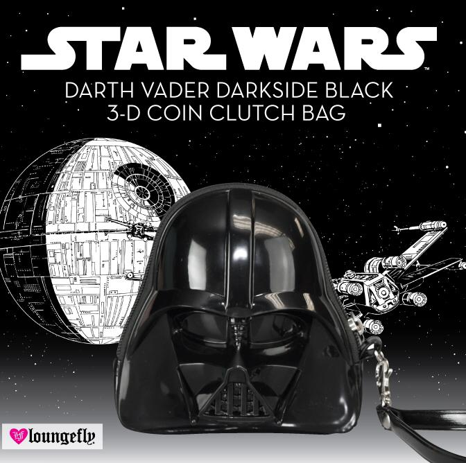 Loungefly - Darth Vader 3D coin clutch bag