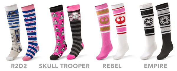 Ladies socks from Thinkgeek