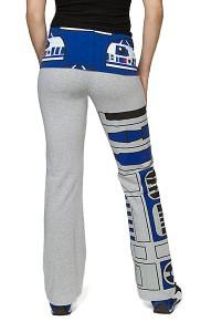 Thinkgeek yoga pants - R2-D2