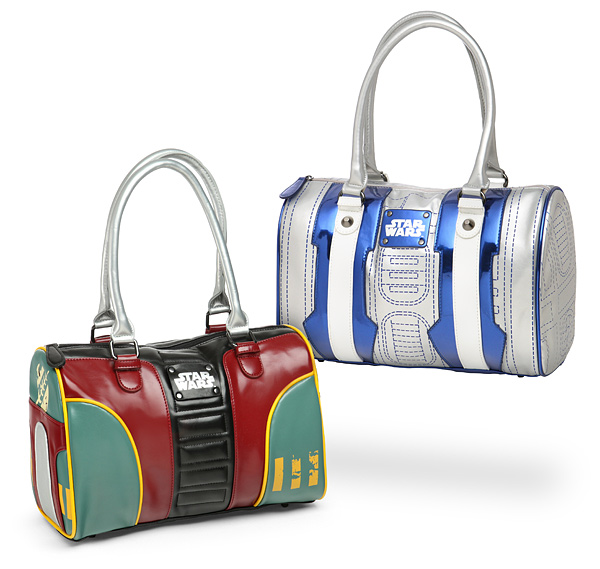 Thinkgeek - Boba Fett and R2-D2 handbags