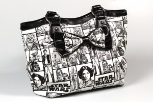 Rock Rebel - comic panel handbag