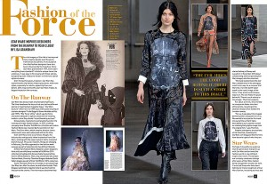 Star Wars Inside magazine: Fashion of the Force