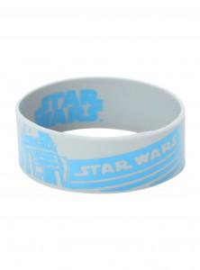 Hot Topic - R2-D2 Rubber Bracelet