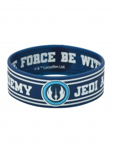 Hot Topic - Jedi Academy Rubber Bracelet