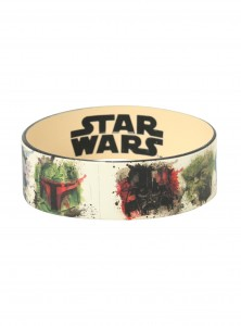 Hot Topic - Watercolor Characters Rubber Bracelet