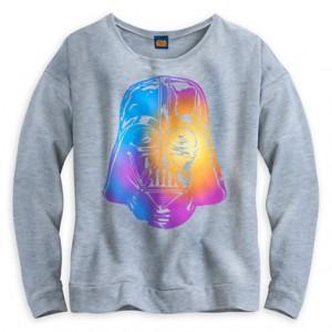 Disney Store - Darth Vader rainbow tee by Mighty Fine