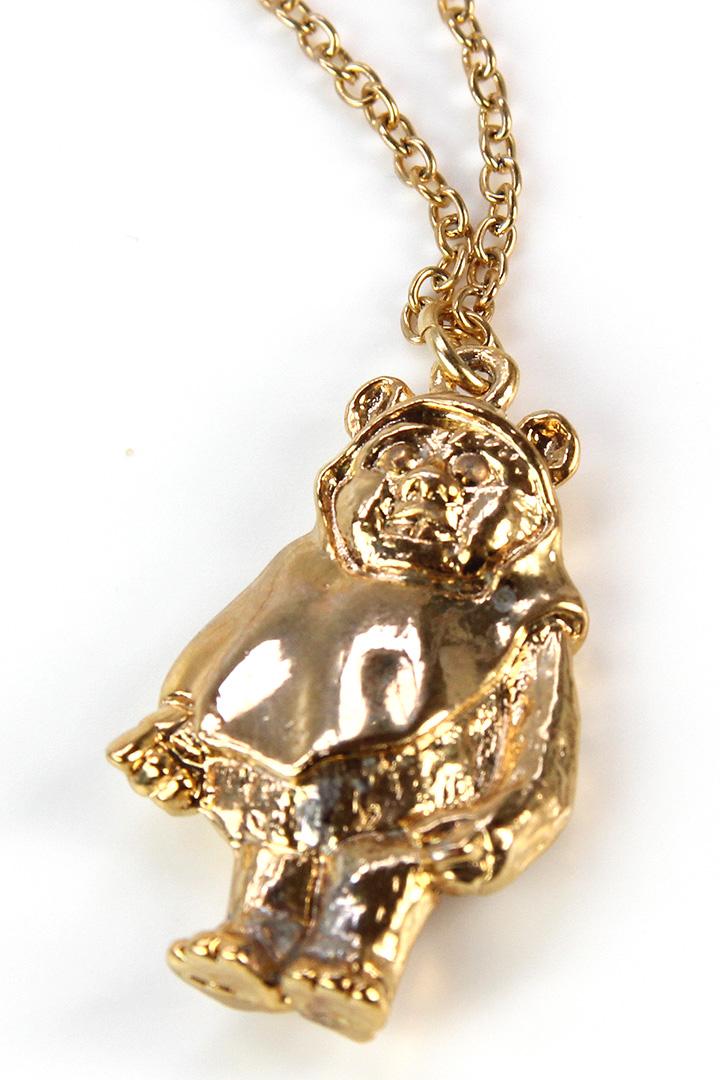 Adam Joseph Inc - Wicket gold tone necklace