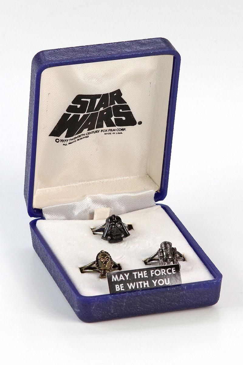 Weingeroff Ent. Star Wars rings