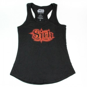 Her Universe - black 'Sith' tank top