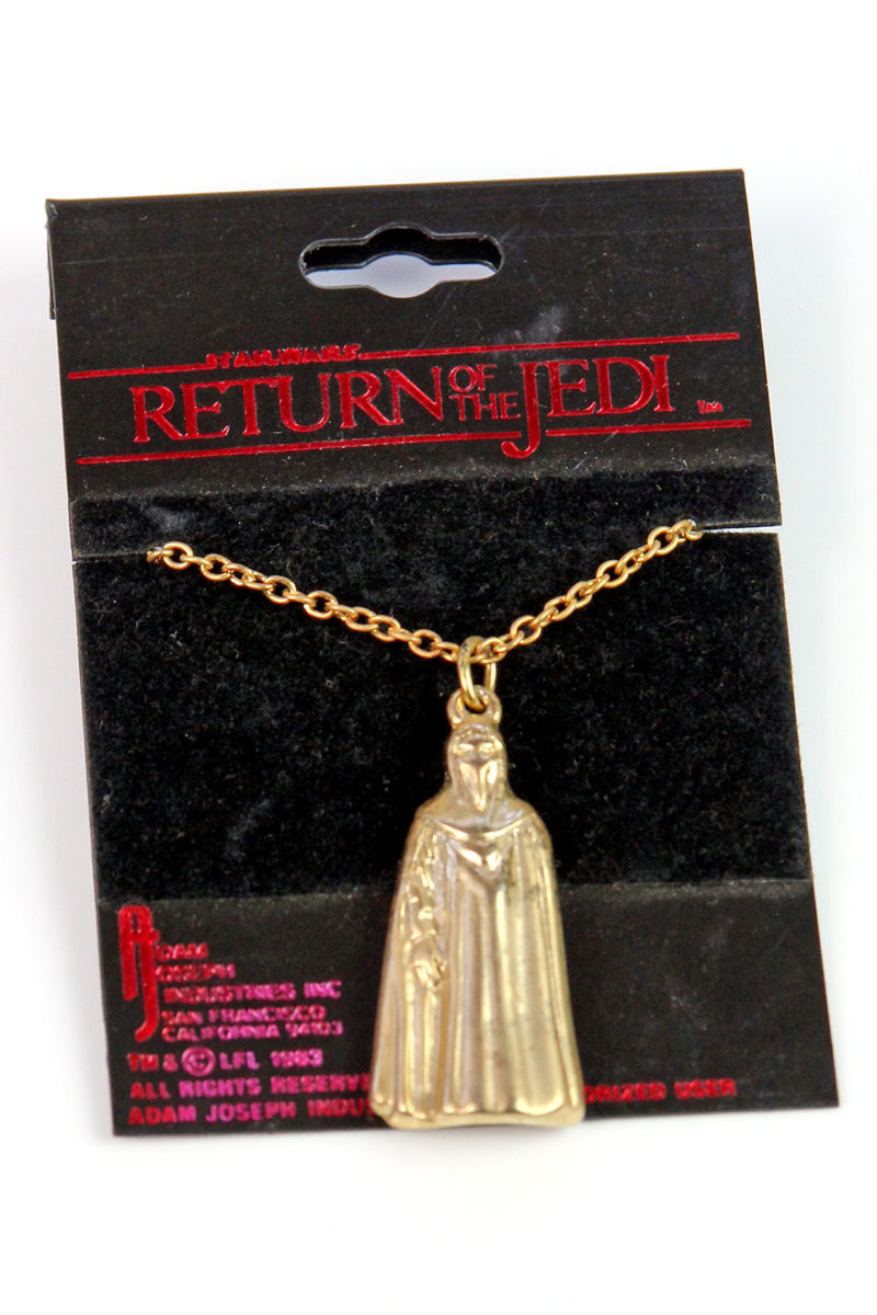 Adam Joseph Inc - Royal Guard gold tone necklace