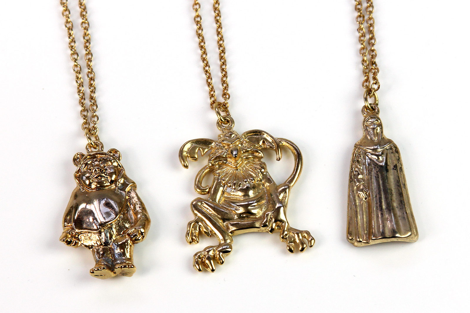 Character necklaces by Adam Joseph
