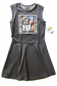 We Love Fine x Goldie - Darth Strikes Back dress (front)