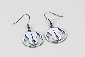 Review – Jedi Order logo earrings