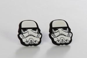 Review – Bioworld Stormtrooper earrings