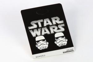 Bioworld - stormtrooper stud earrings
