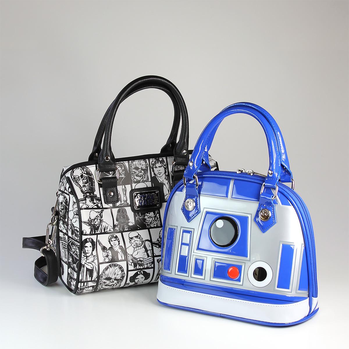 Loungefly - R2-D2 and comic print handbags