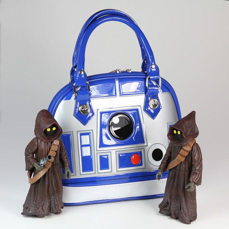 Loungefly - R2-D2 handbag, with jawas