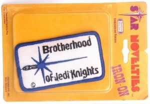 Licensed Brotherhood of Jedi Knights patch