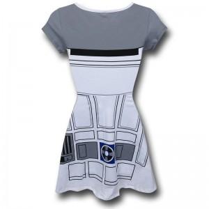 SuperHeroStuff - R2-D2 skater dress (back)