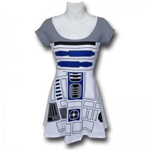 SuperHeroStuff - R2-D2 skater dress (front)