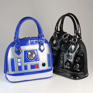Loungefly - mini Darth Vader dome bag with R2-D2 handbag