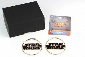 Body Vibe - Star Wars logo hoop earrings