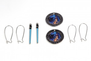 Loungefly - MTFBWY pendants with earring loops