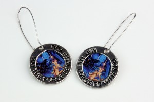 Loungefly - MTFBWY pendants turned into earrings