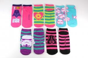 HYC - women's Star Wars socks 5-pack