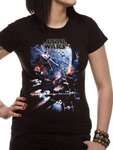 Urban Species - women's Death Star Battle tee