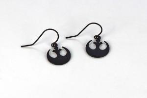Her Universe - Rebel Alliance dangle earrings