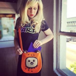 Ewok bag from Her Universe!