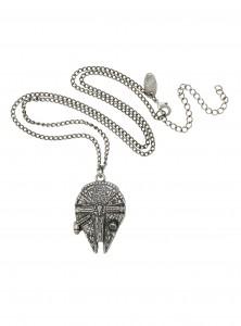 Hot Topic - Millennium Falcon necklace