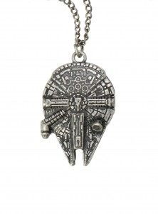 Millennium Falcon necklace at Hot Topic
