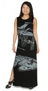 Star Wars maxi dress at Thinkgeek