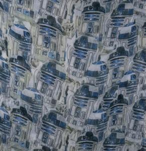 R2-D2 scarf at SuperHeroStuff